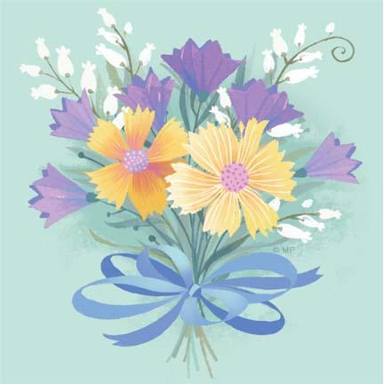 Floral R-16-Buoquet B