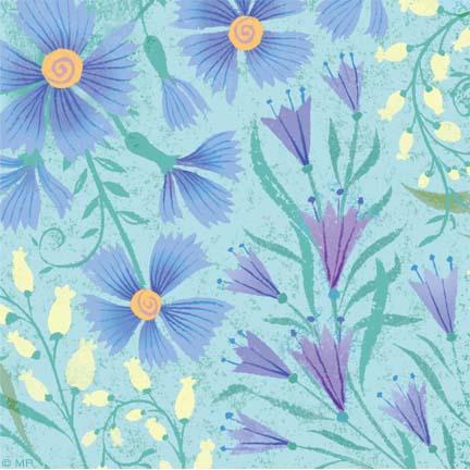 Floral R-16-pattern B