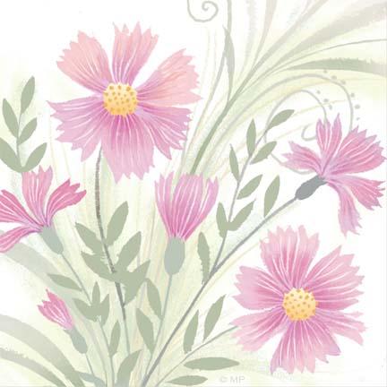 Floral R-16-pink bush