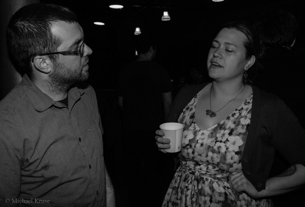 "The Bellows founders Kevin Hutson and Sarah ""Pip"" Bradford"