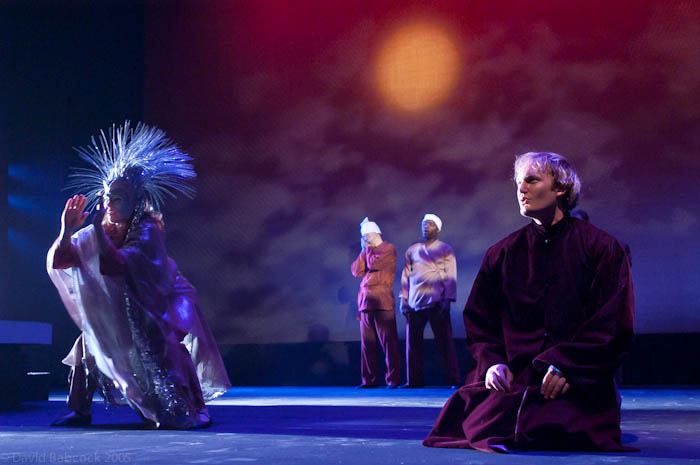 Brahm and the Angel by Geordie Productions. Set and Costumes by Pat Flood.