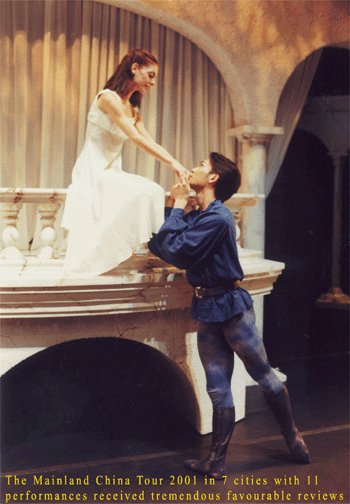 Romeo and Juliet, by Ballet Jorgen, produced by Hong Kong Ballet, sets by Glenn Davidson
