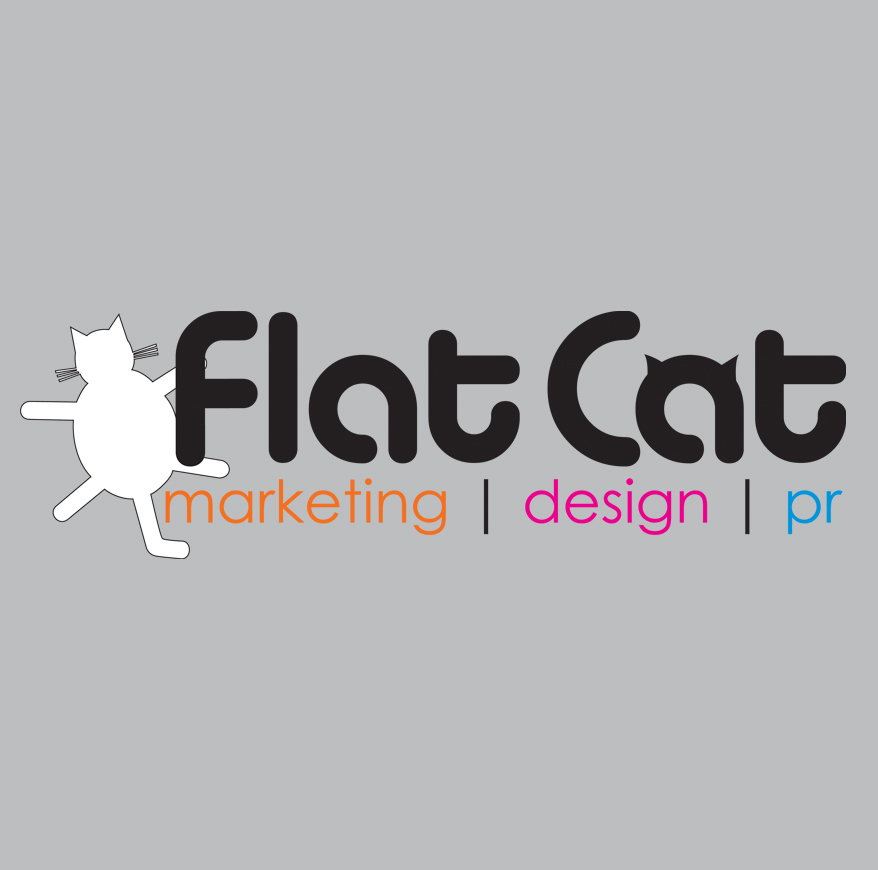 Flat Cat Logo