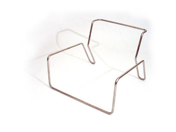 The Steel Structure Is Composed Of Four Individual Segments Which Slot  Together To Form The Chair Shape. Canvas Slings Are Stretched Between The  Frame To ...