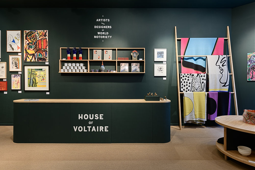 18 November 2016 The fourth House of Voltaire store which we have designed and built opens today on Cork Street in Mayfair.See here for more details.
