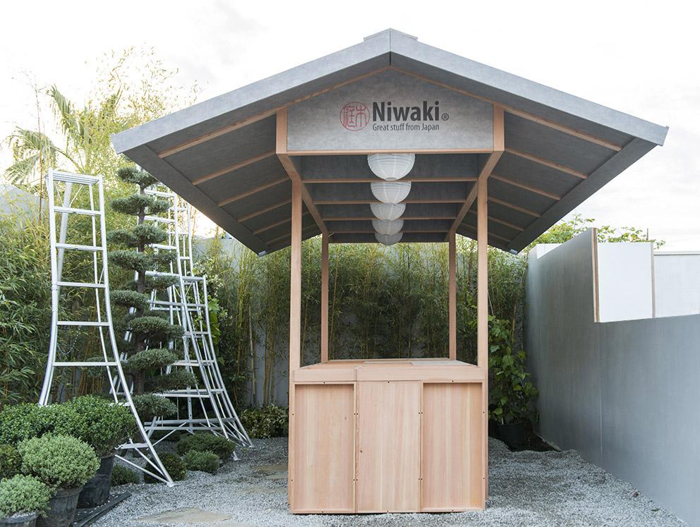 Niwaki Pavilion - RHS Chelsea Flower Show 2017