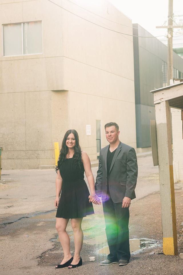My Husband and I - 2014 - Image via Roughley Originals