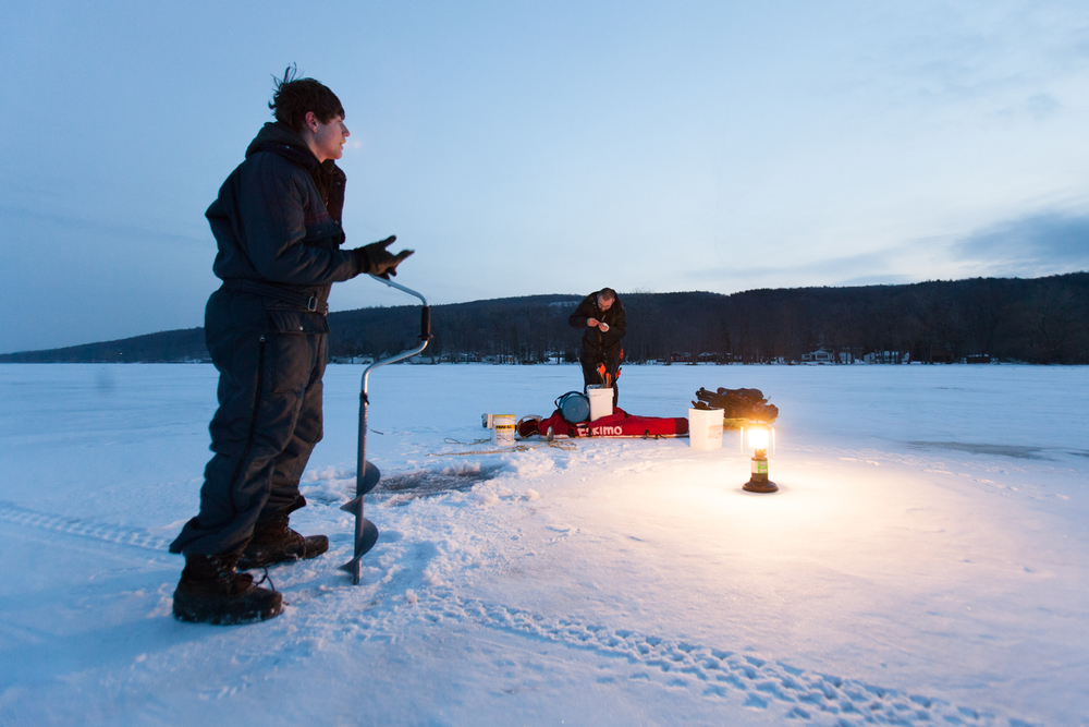 honeoye lake ice fishing rugile kaladyte