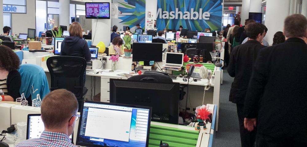 Mashable headquarters.