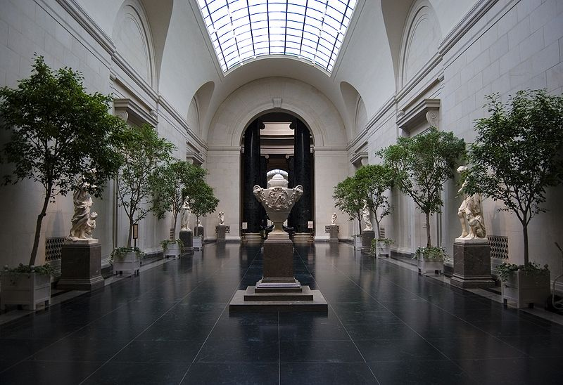 National Gallery of Art, West Building Interior