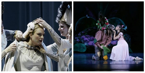 scenes from Lohengrin and A Midsummer Night's Dream