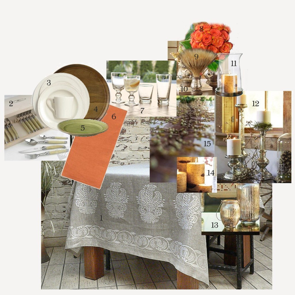 thanksgiving table inspiration board