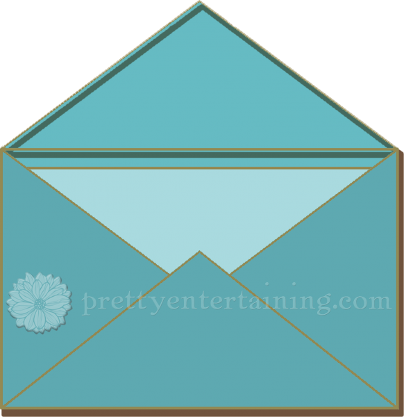 stuffed outer wedding invitation envelope