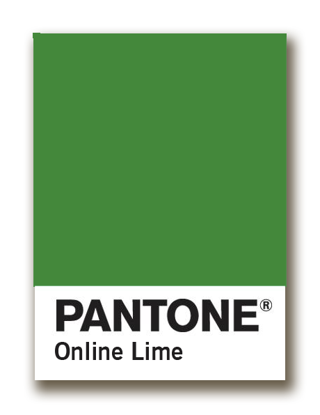 pantone online lime chip