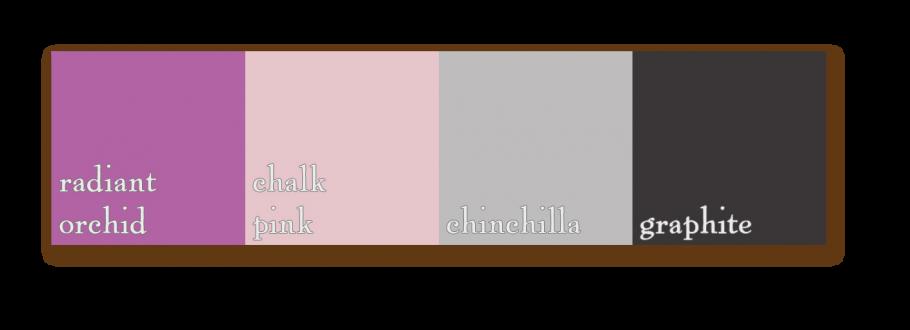 palette radiantorchid chalkpink chinchilla graphite