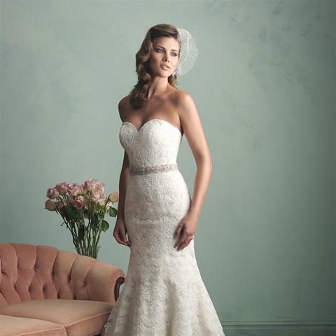 allure bridals 9157