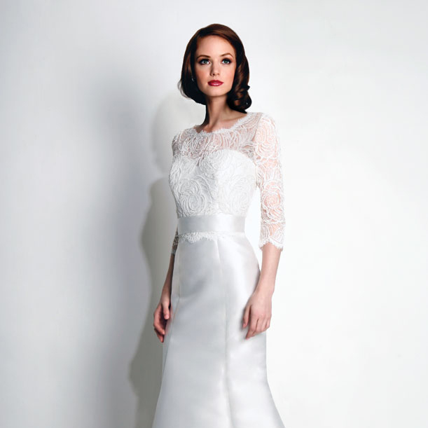 modern trousseau spencer with jacket