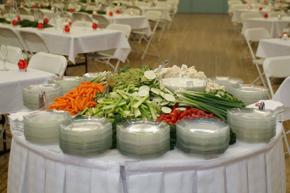 photo by Focal Point Photographics; catering by Dagar's Catering