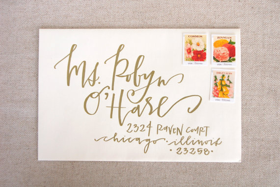 calligraphy by caitlin bristow of lettered life