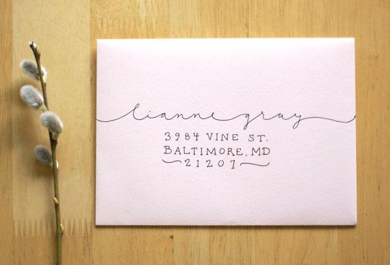 calligraphy by kelsey neldon of willow & ink studio