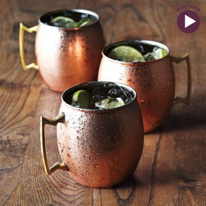 copper moscow mule mugs by sur la table