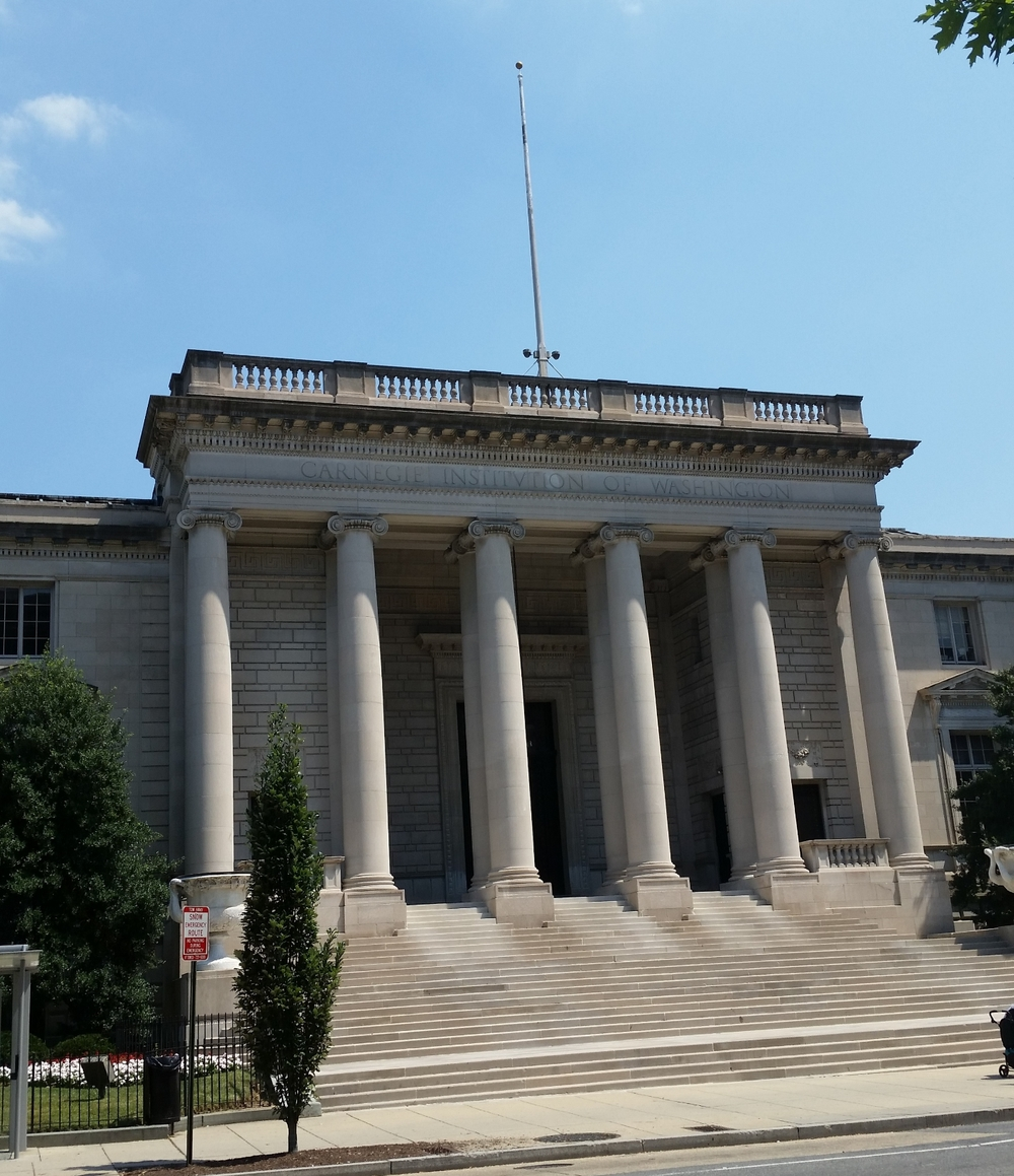 The Portico at the Carnegie Institution for Science, Washington, DC