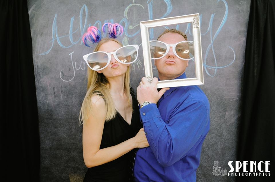 Photo by Spence Photographics Silly Station Photobooth
