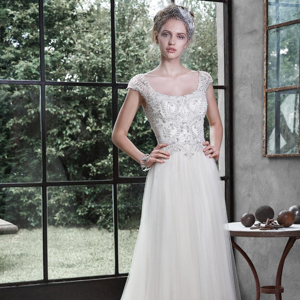 maggie sottero Caitlyn cherry blossom bridal washington dc