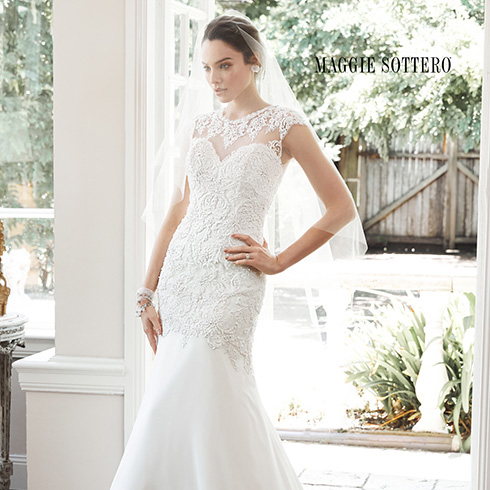 maggie sottero Tenley the bridal boutique columbia maryland md