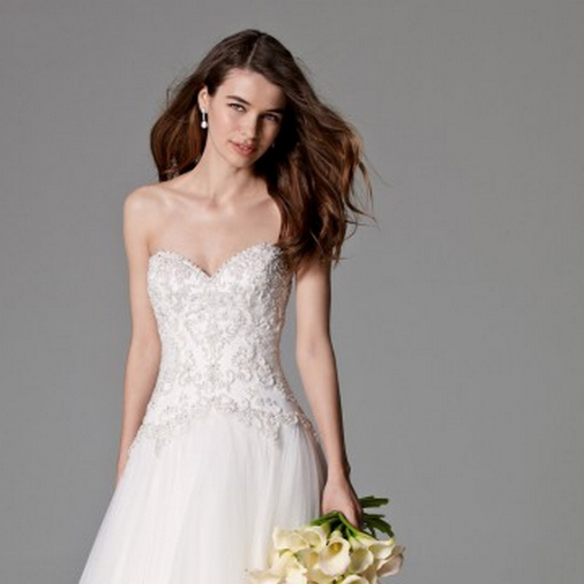 watters WILLAMINA lovely bride washington dc
