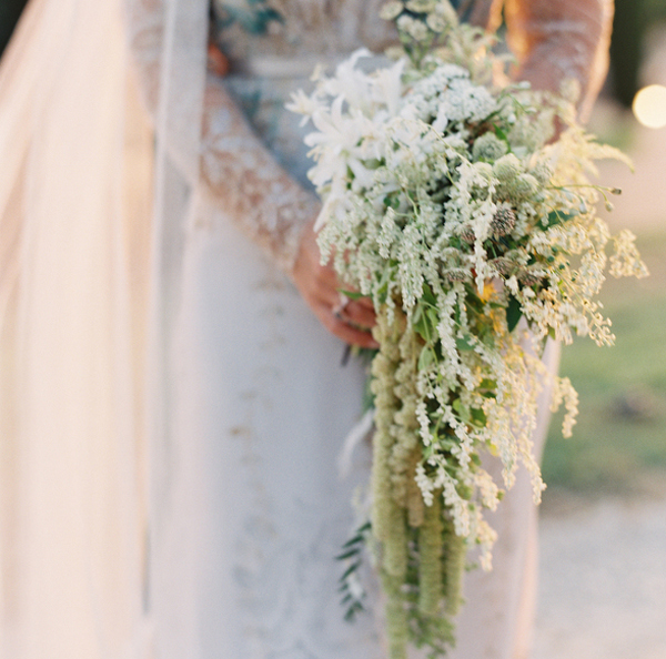Flowers by  Joy Thigpen Environments  with assistance by Kelly Lenard of  Intertwine Style  | Photo by  Bryce Covey