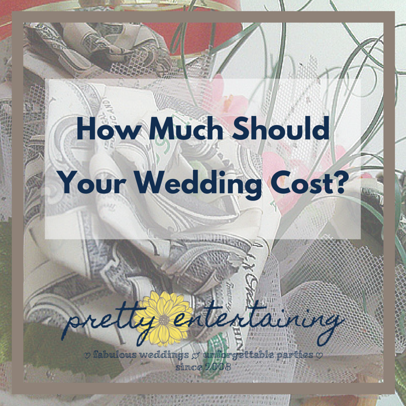 How much should your wedding cost pretty entertaining for How much should a wedding cost
