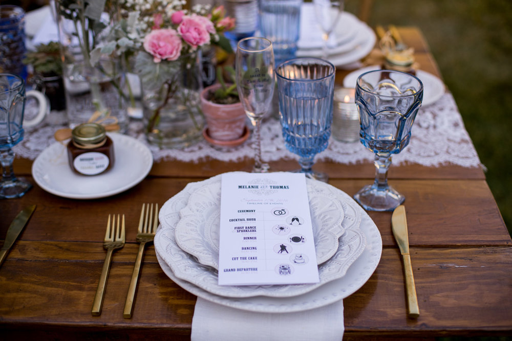 Wedding catering by Hungry Bear Catering Co. / Yair Haim Photography