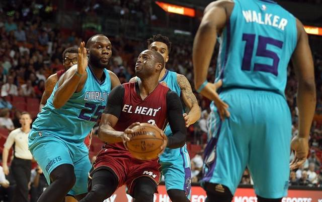 Dwayne Wade looking to turn back the clock on this revamped Miami team. Photo courtesy of the Miami Herald.