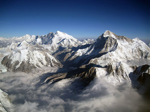 Sagarmatha (Everest) from the South