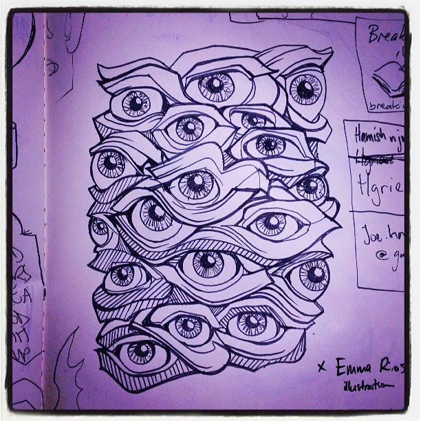 Ideas for an eyeball vase #wierd #vase #illustration #howto #sketch #sculpture #artist #designer #Sydney