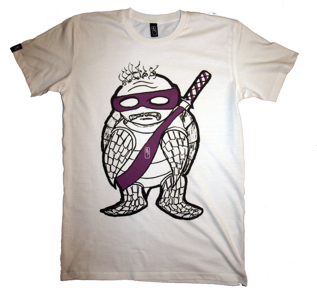 Aging Ninja Turtle (by  www.theud3.com )