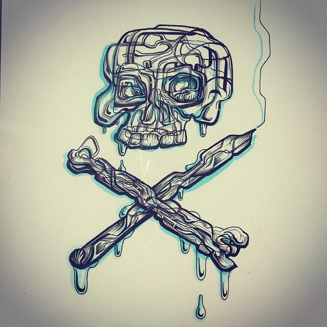 Till death do us art.   #Illustration #drawing #artforsale