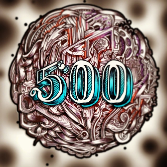 Kaboom we broke 500 cheers for all the instalove! Looking forward to sharing more with you all this year.