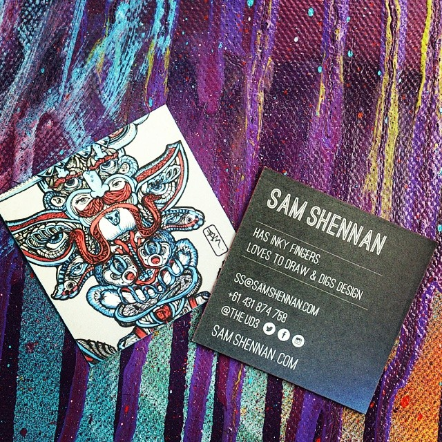 Anyone keen on custom designs? Here's my card. #customart #comissions #customtattoo