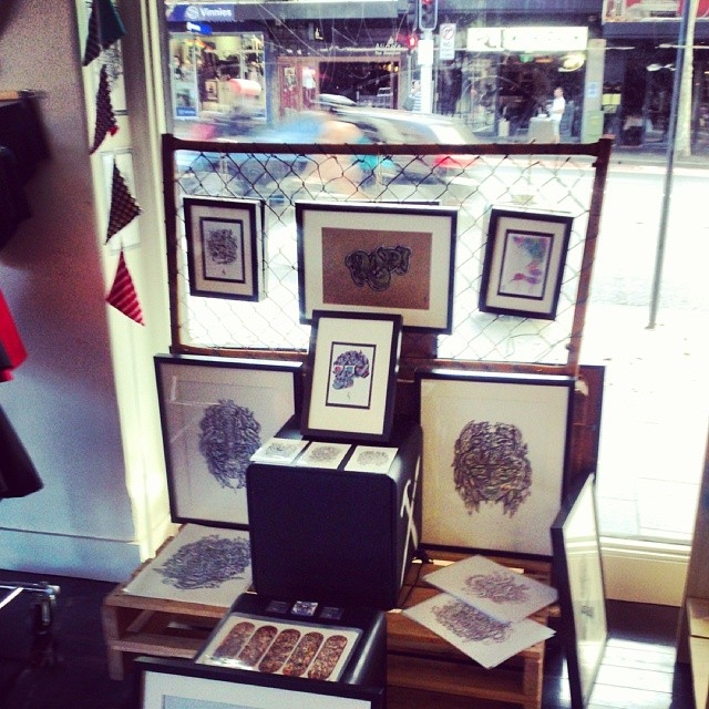 Interested in getting some UD3 originals? Framed drawings are up for grabs at the Makery, 106 Oxford St  (at Work-Shop Makery)