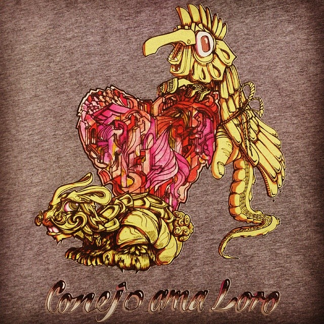 Merry Easter - here's a Custom tshirt design I worked on. #ink #tshirt #custom
