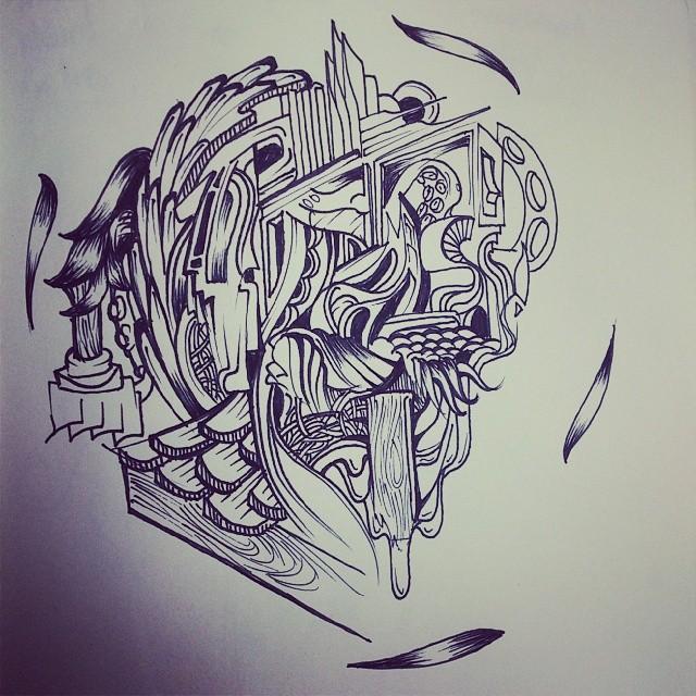 I drew a nothing.
