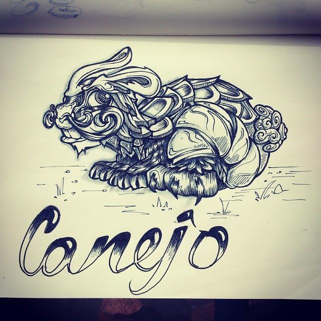 Conejo means rabbit.