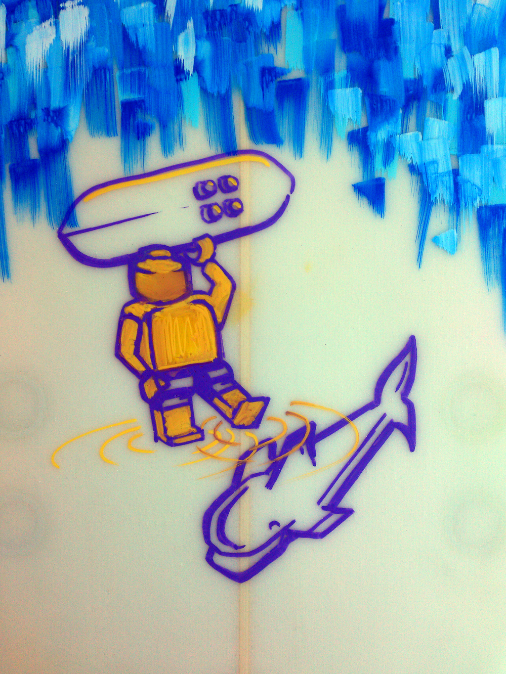 lego-surfboard-illustration-samshennan-sam-shennan-ud3-posca-handmade-handpainted-yellow-purple.jpg