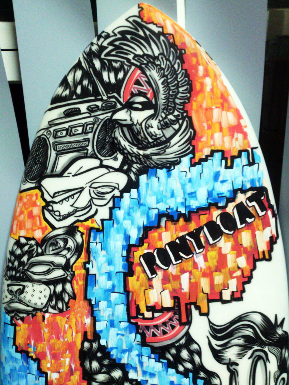 nose-closeup-close-up-painted-surfboard-handmade-hand-painted-sydney-painter-sam-shennan-ud3-illustrator.jpg