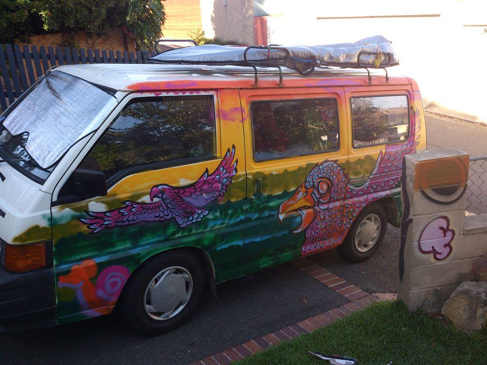 Davo Backpacker Van Hotwheels Sam Shennan Theud3 Ud3