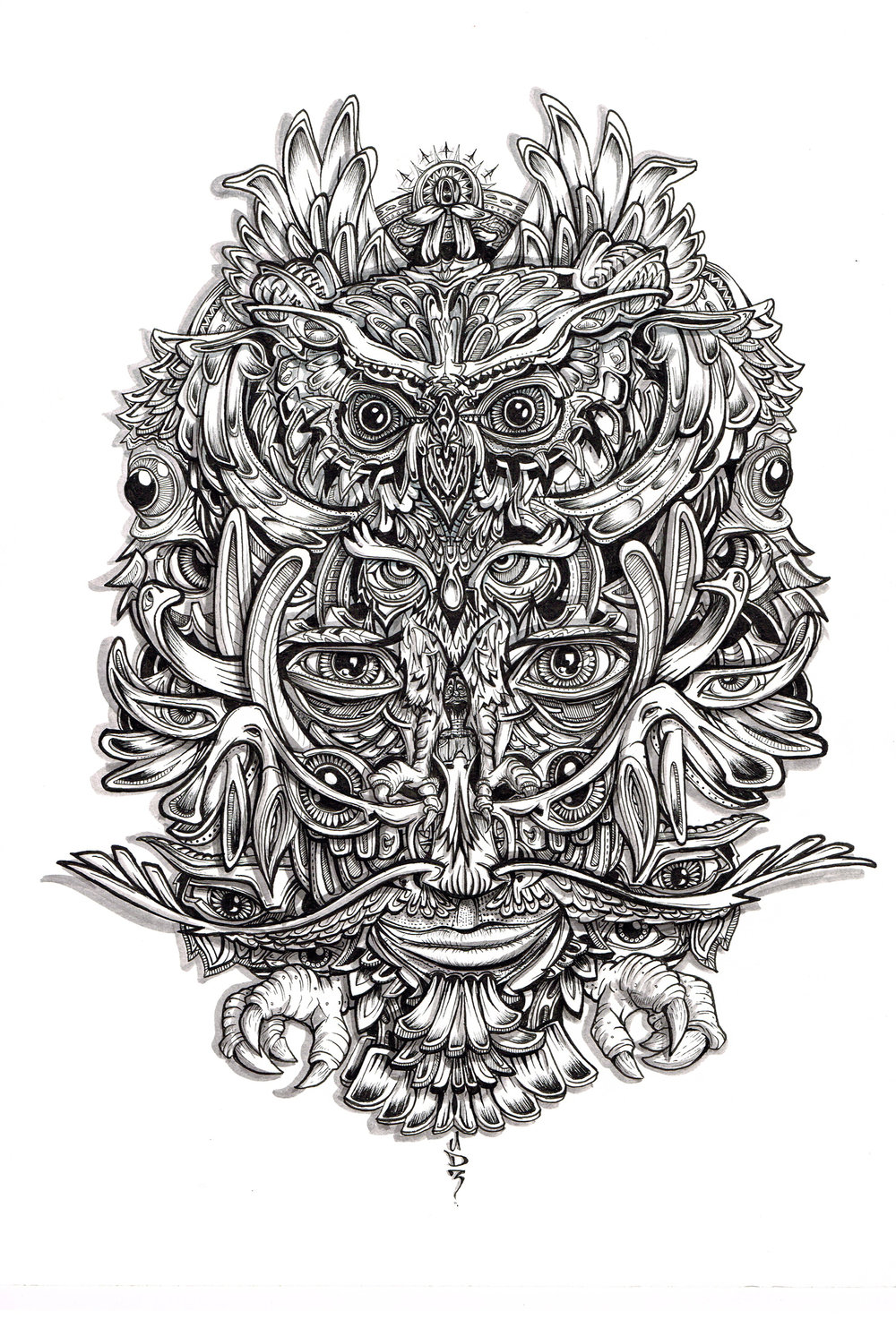 tribal-primitive-owl-black-and-white-illustration-drawing-eyes-feathers-costume-mask.jpg