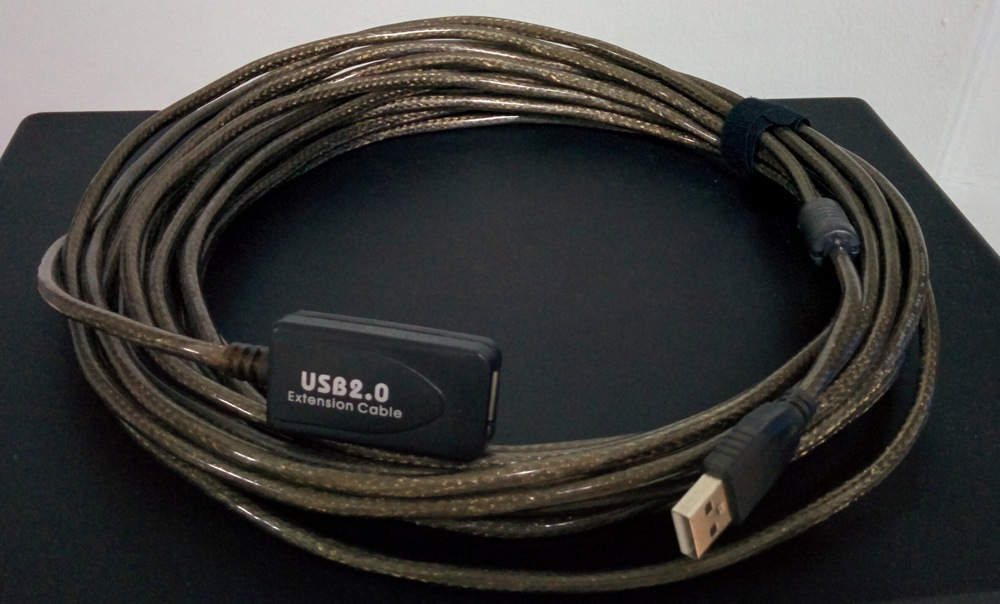 Active USB extender cable
