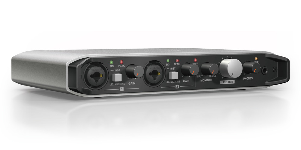 Tascam iXR audio interface; Credits  Tascam